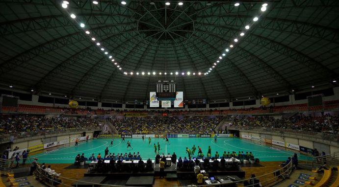 Arena Multiuso Tancredo Neves, o Sabiazinho, receberá os jogos finais do Mundial Júnior